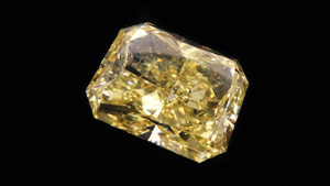 Yellow Diamond from the Alrosa Hong Kong tender