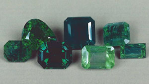 The Chemical Distinction of Natural from Synthetic Emeralds