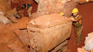 ボリビアのアナイ鉱山