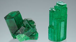 Synthetic emeralds