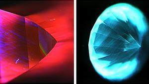 DiamondView钻石观测仪荧光图