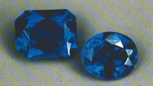 'Cobalt-Blue' Gem Spinels