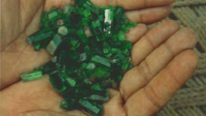 Emeralds of the Panjshir Valley, Afghanistan