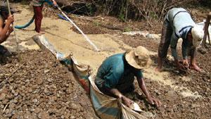 カンボジアのジルコン鉱床
