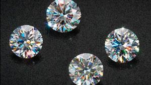 纳米切工深绿玉髓蚀刻钻石