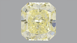 天然混合型黄色钻石