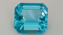 Brazilian Emerald-cut Aquamarine