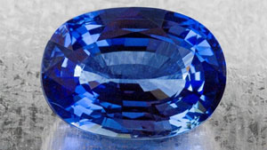 A blue sapphire recently examined in the laboratory weighing 22.52ct was determined to contain 7.50 ‐ 9.50 ppma of beryllium by using LA‐ICP‐MS.