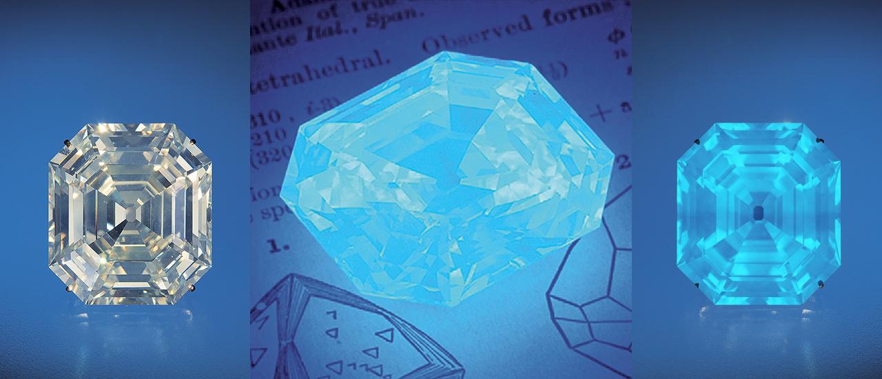 Effects of Blue Fluorescence on Diamond Appearance