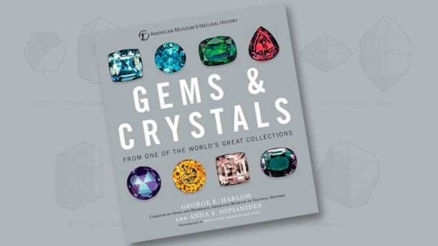 Gems & Crystals Book Cover