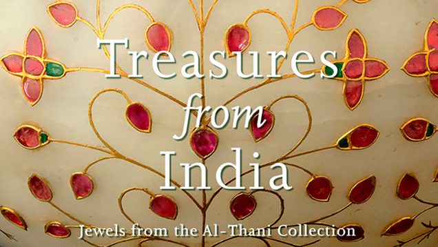Treasures from India: Jewels from the Al-Thani Collection Book Cover
