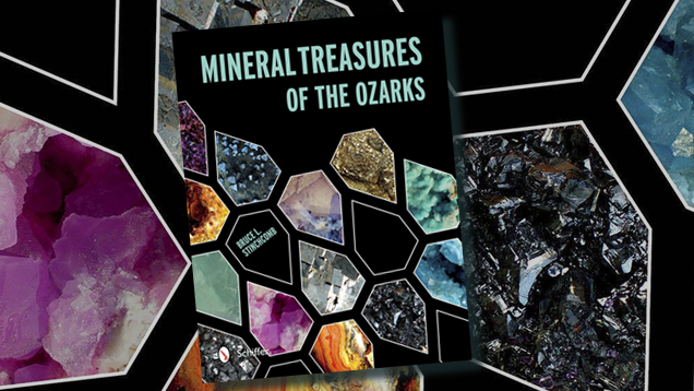 Mineral Treasures of the Ozarks Book Cover