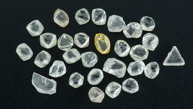 A scattering of rough diamonds