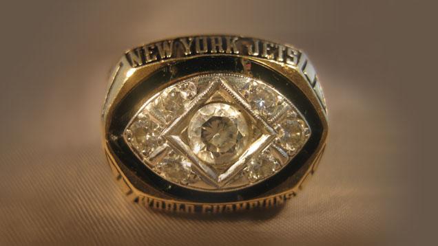 New York Jets Superbowl III Ring