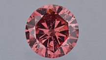 Natural-color Red Diamond