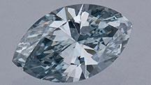 0.49カラットのブルーダイヤモンド