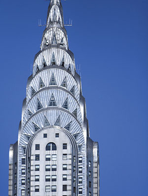 The Chrysler Building In Manhattan Is A Classic Example Of Art Deco Architecture And Features Number These Design Elements