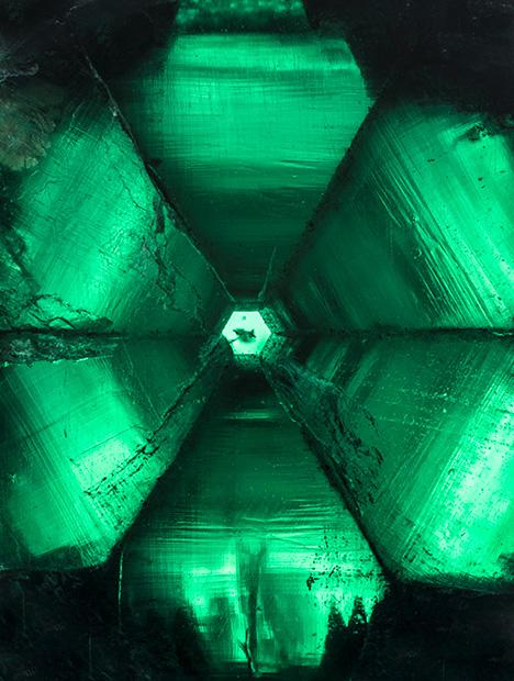 58.83 ct trapiche emerald