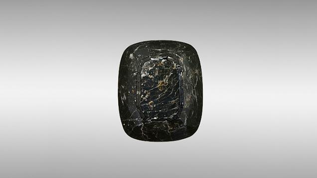134.43 ct hibonite specimen.