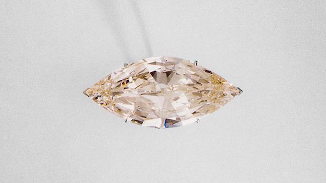 Marquise-cut Lesotho III diamond