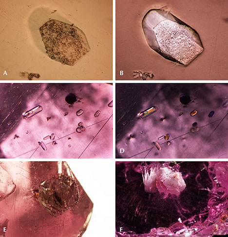 "Apatite and other phosphate minerals in ""color-change"" pyrope garnet"