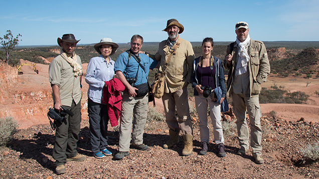 GIA Expedition Team in Australia