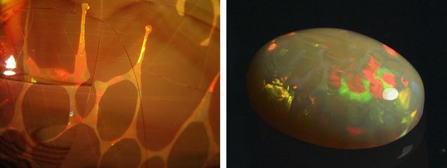 On the Origin of Digit Patterns in Gem Opal | Gems & Gemology