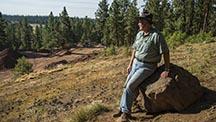 John Woodmark, CEO of the Ponderosa mine, is a man in his element. - Robert Weldon