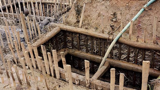 Meter Pits Near Balangoda