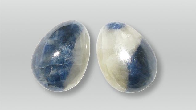 Sapphire cabochons from Sutara, Russia