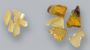 Natural-color yellow sapphires with FTIR features of Punsiri-treated sapphire