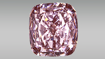 4.29 ct color-treated Fancy brown-pink diamond