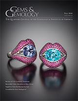 Fall 2016 Gems & Gemology Cover