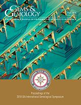 Fall 2018 Gems & Gemology Cover