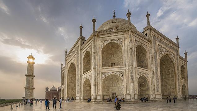 Minarets of the Taj Mahal