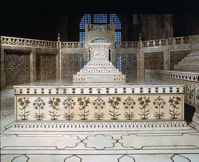 Cenotaph of Mumtaz at the Taj Mahal