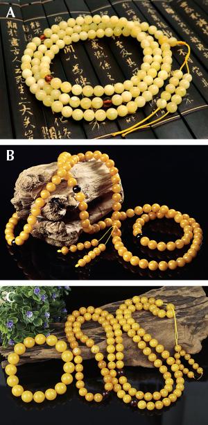 Amber varieties