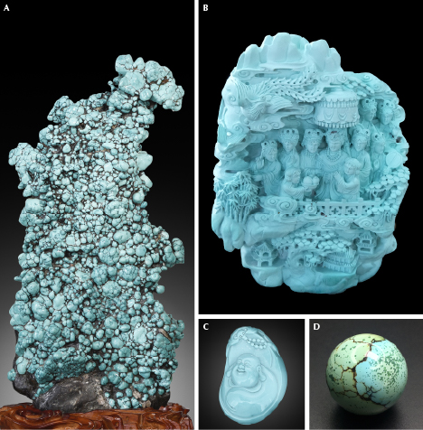 High-quality turquoise products from Hubei Province