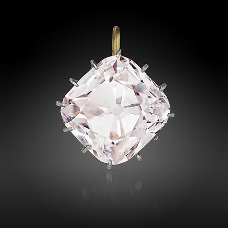 The 19.07 ct Grand Mazarin diamond