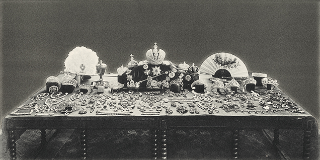 Russian crown jewels assembled in 1925