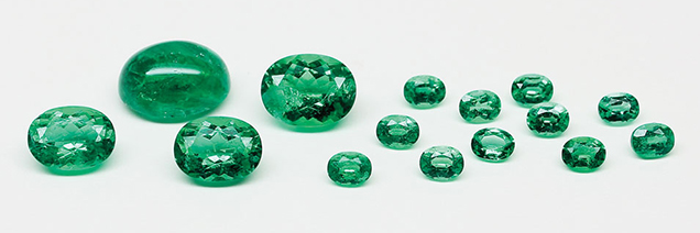 Polished Emeralds