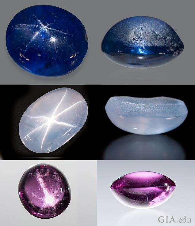 cat's-eye gems