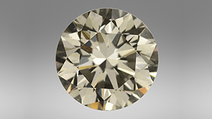 1.50 ct Fancy Dark gray CVD synthetic diamond