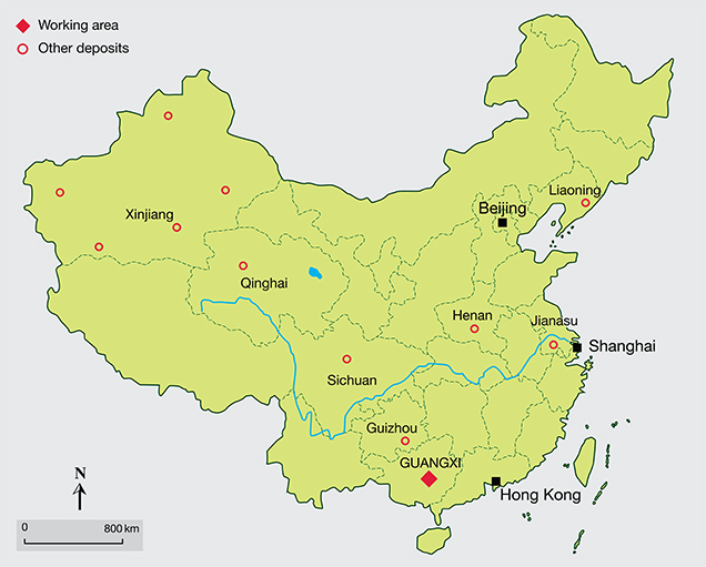China's Guangxi Province