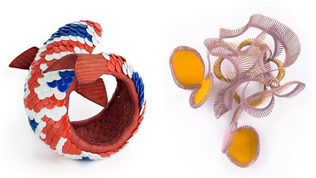 Koi bracelet and Loperenias brooch
