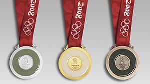 Beijing Olympic medals