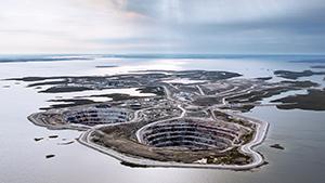 Mining Diamonds in the Canadian Arctic: The Diavik Mine