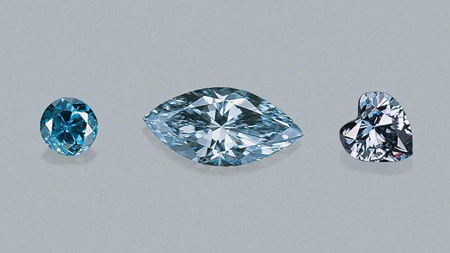Natural Blue Diamonds