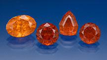 Spessartine Garnets From the US State of Virginia