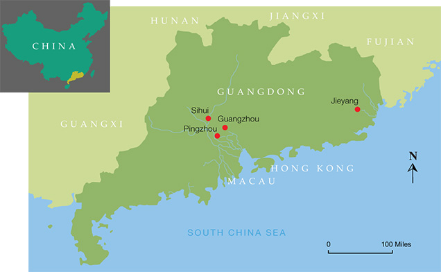 Guangdong Map